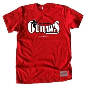 USFL Oklahoma Outlaws Logo Tee