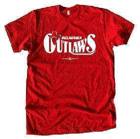 Oklahoma Outlaws USFL Ringer T-Shirt