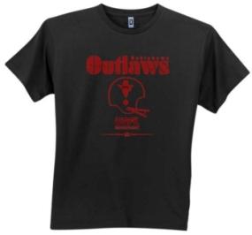 Oklahoma Outlaws USFL Fashion T-Shirt