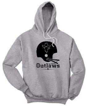 Oklahoma Outlaws Helmet Hoody