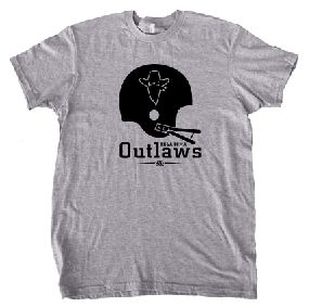 Oklahoma Outlaws Helmet Tee