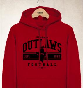 Oklahoma Outlaws Logo Hoody