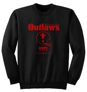 USFL Oklahoma Outlaws Locker Crew