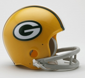 1961-1979 Green Bay Packers Throwback Mini Helmet