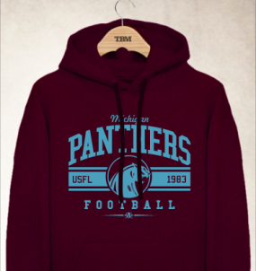 Michigan Panthers Logo Hoody