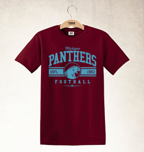 Michigan Panthers Logo Tee