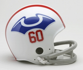 1960 New England Patriots Throwback Mini Helmet