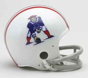 1965-1981 New England Patriots Throwback Mini Helmet