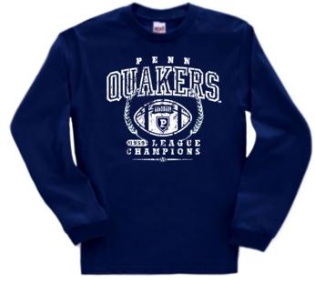 Pennsylvania Quakers '59 Football Champs Long Sleeve Tee