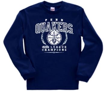 Pennsylvania Quakers '65 Basketball Champs Long Sleeve Tee