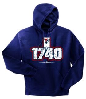 Pennsylvania Quakers 1740 Hoody