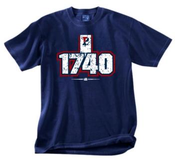 Pennsylvania Quakers 1740 Tee