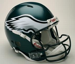 Philadelphia Eagles Full Size Revolution Helmet