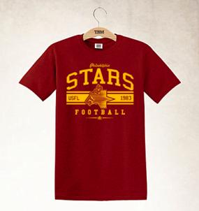 Philadelphia Stars Logo Tee