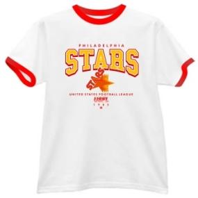 Philadelphia Stars USFL Ringer T-Shirt