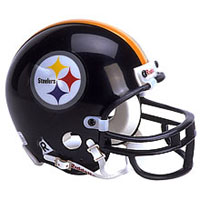 Riddell Pittsburgh Steelers Full Size Replica Helmet