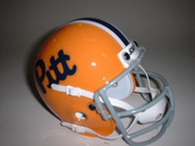 1976 Pittsburgh Panthers Throwback Mini Helmet