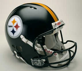 Pittsburgh Steelers Full Size Revolution Helmet