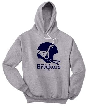 Portland Breakers Helmet Hoody