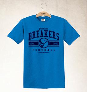 Portland Breakers Logo Tee