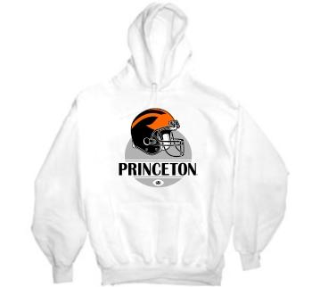 Princeton Tigers Modern Helmet Hoody