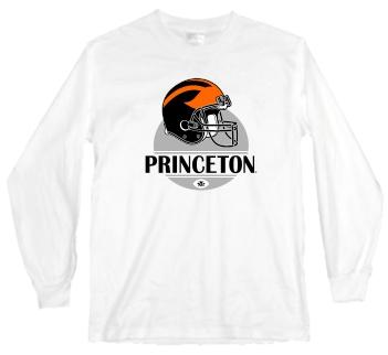 Princeton Tigers Modern Helmet Long Sleeve Tee