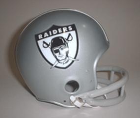 1963 Oakland Raiders Throwback Mini Helmet