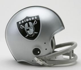 1964 Oakland Raiders Throwback Mini Helmet