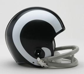 1965-1972 Los Angeles Rams Throwback Mini Helmet