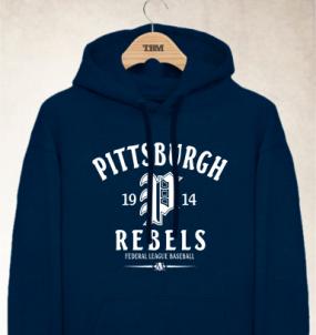 Pittsburgh Rebels Clubhouse Vintage Hoody