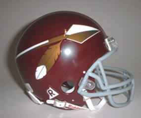 2002 Washington Redskins Throwback Mini Helmet