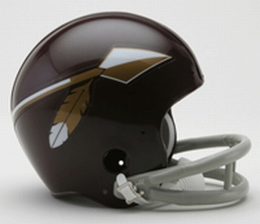 1965-1969 Washington Redskins Throwback Mini Helmet