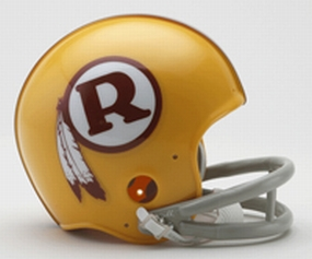 1970-1971 Washington Redskins Throwback Mini Helmet