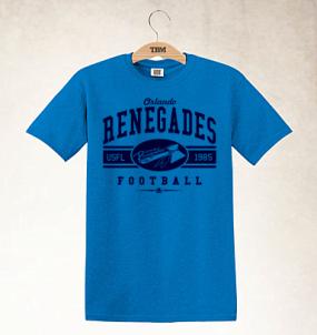 Orlando Renegades Logo Tee