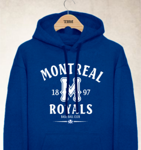 Montreal Royals Clubhouse Vintage Hoody