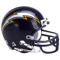 Riddell San Diego Chargers Full Size Replica Helmet