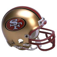 Riddell San Francisco 49ers Full Size Replica Helmet