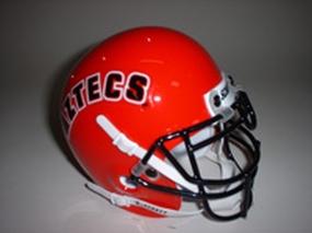 1993 San Diego State Aztecs Throwback Mini Helmet