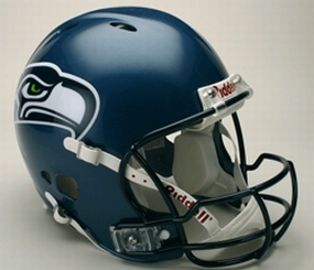 Seattle Seahawks Full Size Revolution Helmet