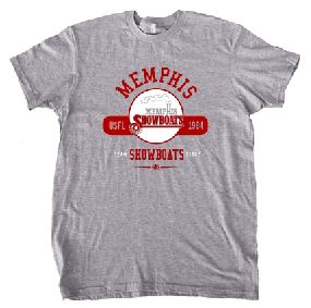 Memphis Showboats USFL Oxford T-Shirt