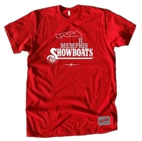 USFL Memphis Showboats Logo Tee