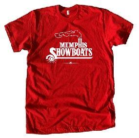Memphis Showboats USFL Ringer T-Shirt