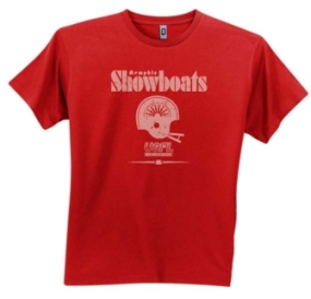 Memphis Showboats USFL Fashion T-Shirt