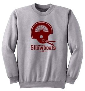 Memphis Showboats Helmet Crew