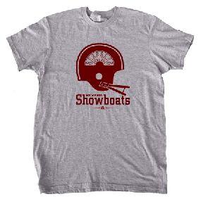 Memphis Showboats Helmet Tee