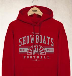 Memphis Showboats Logo Hoody
