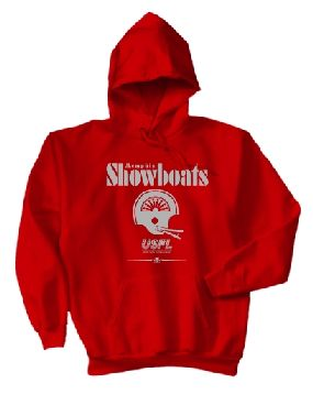 USFL Memphis Showboats Locker Hoody