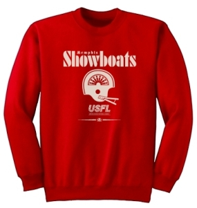 USFL Memphis Showboats Locker Crew
