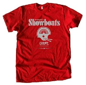 USFL Memphis Showboats Locker Tee