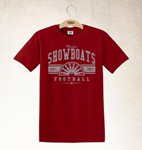 Memphis Showboats Logo Tee